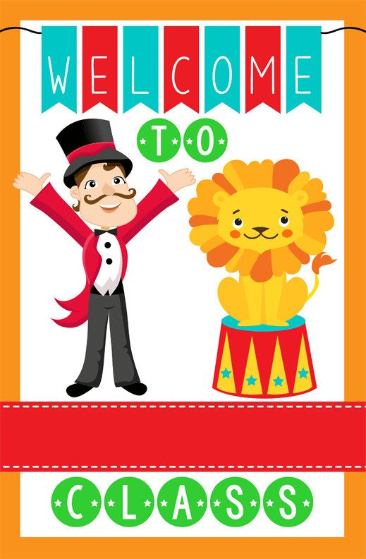 Classroom Welcome Decor : Images about classroom themes on pinterest circus