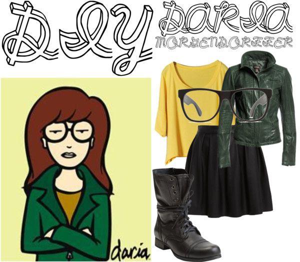 Daria // 25 DIY Halloween Costumes Guaranteed To Keep You Warm  Also - Log Lady Costume