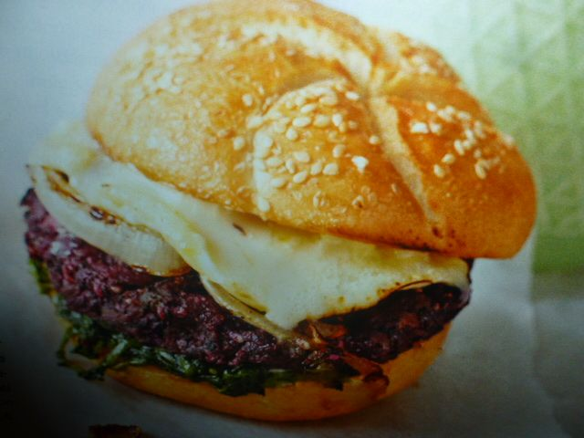 hamburger - di barbabietola e cicorione
