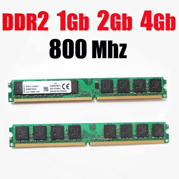 [Visit to Buy] ram ddr2 4Gb 1G 2Gb 800 DDR2 800Mhz / for AMD for intel desktop DDR 2 1G 2G 4G ddr2 memory RAM memoria ddr2 2Gb 800 PC2 6400 #Advertisement