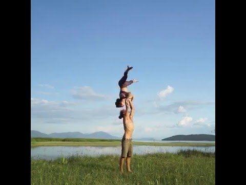 Partner Acrobatics Advanced Intensive Teaser - YouTube