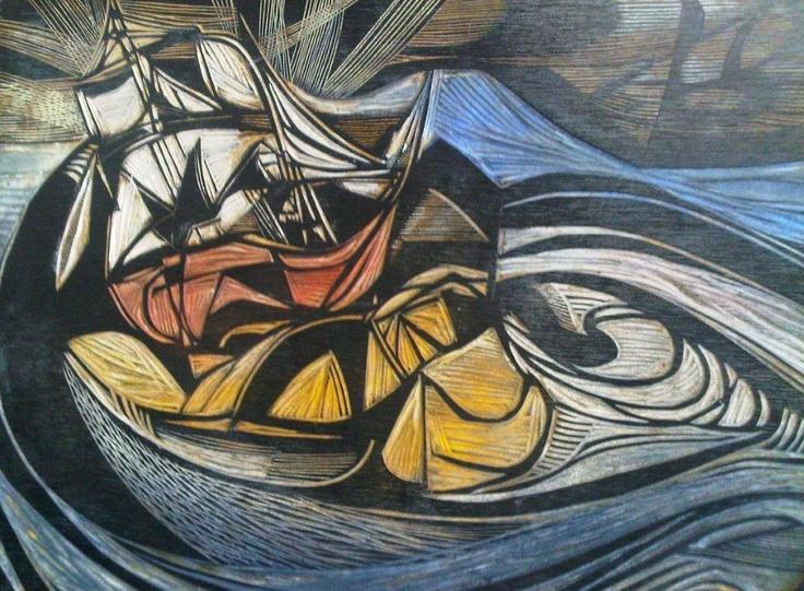 Cecil Skotnes woodcut