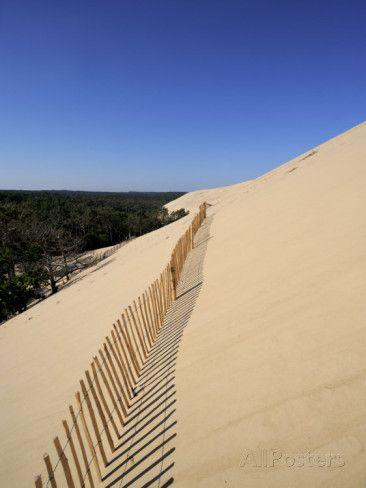 Dunes Du Pyla, Bay of Arcachon, Cote D'Argent, Aquitaine, France, Europe Photographie