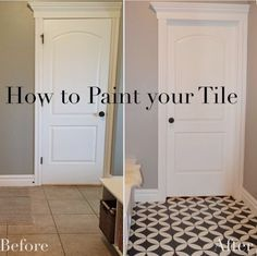 The Girl Who Painted Her Tile... What? - Remington Avenue