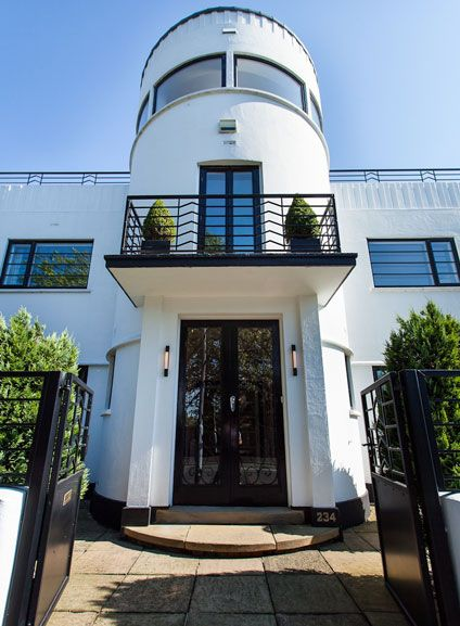 Art Deco Home 43 best art deco homes images on pinterest | modern houses, the