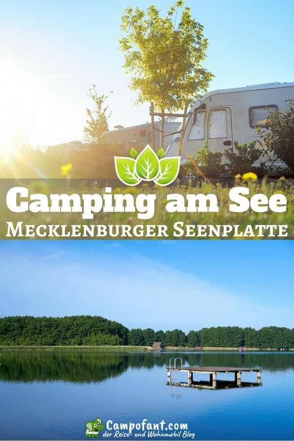 Camping am See an der Mecklenburger Seenplatte Camping