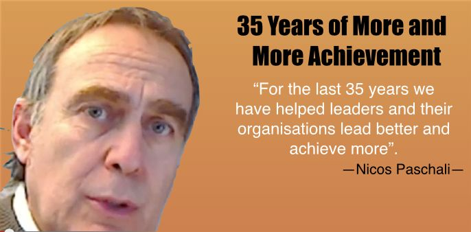 """For the last 35 years we have helped leaders and their organisations lead better and achieve more""."