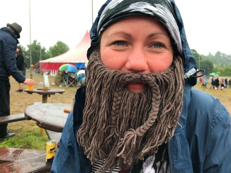 Pirate beard for beautiful days festival