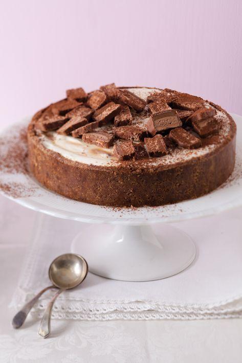 Bar-One cheesecake