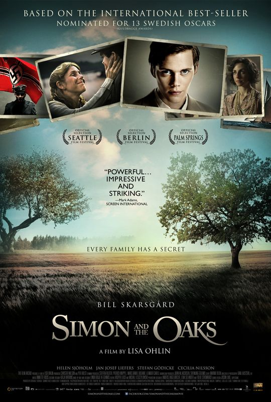 Simon and the Oaks Poster: nominated for 13 Swedish Film awards-movieinsider.com