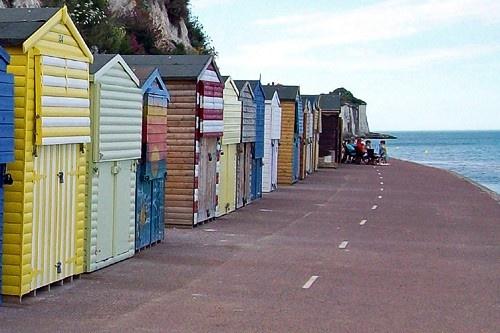 Broadstairs beach huts