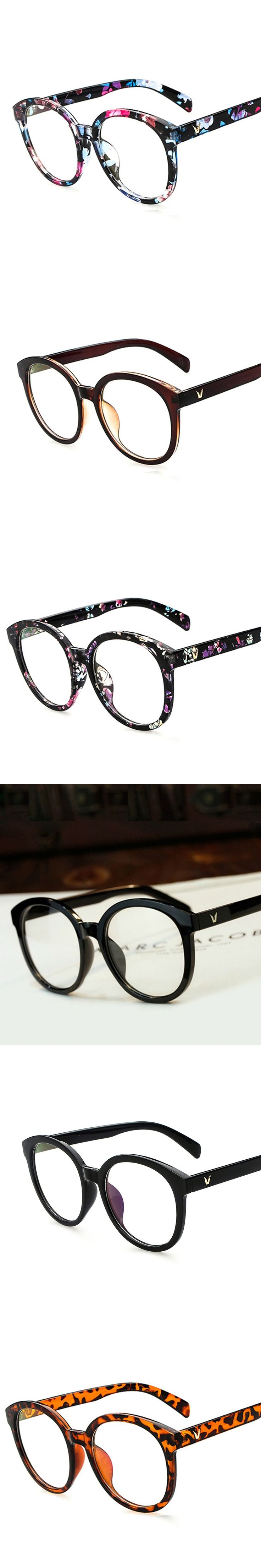 2017 Big Myopia Glasses Frame Vintage Clear Eyeglasses Optical Spectacle Prescription Eyeglass Frames Women Men Oculos Eyewear