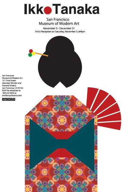 ikko tanaka poster