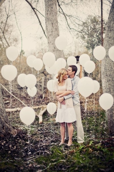 Cailin + Jason's Bubbles and Balloons Engagement Session