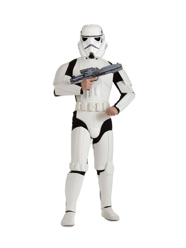 Adult Star Wars Stormtrooper Licensed Deluxe Version Mens Fancy Dress Costume in Clothes, Shoes & Accessories, Fancy Dress & Period Costume, Fancy Dress | eBay