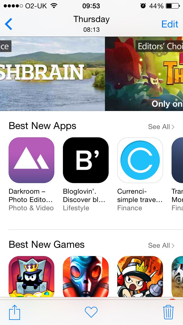 #App store #carousel