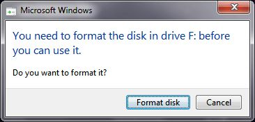 Spooky  Werewolf: Memperbaiki Hard Disk External yang Meminta Format...