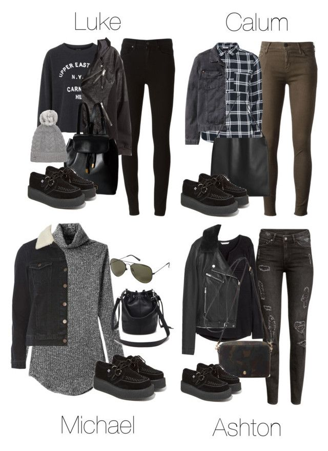 """""""5SOS Styles: TUK Creepers"""" by fivesecondsofinspiration ❤ liked on Polyvore featuring Dorothy Perkins, T.U.K., H&M, MANGO, Forever 21, Mulberry, Koral, Vero Moda, Topshop and Paige Denim"""