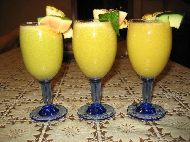 Ricetta Centrifuga di frutta tropicale