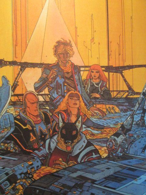 Les Mystères de l'Incal, Moebius, Jodorosky, Annestay, disponible sur entre-image!