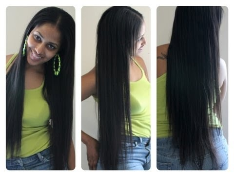 93 best hair extensions clip ins wigs diys tips ect images diy a simple tutorial on how to make your own clip in extensions and install pmusecretfo Choice Image