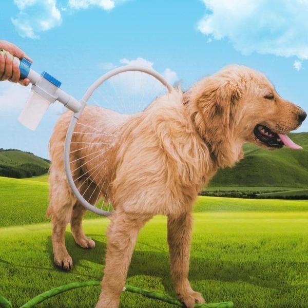 360 Pet Shower Tool Pets Clever Dog Dog Wash
