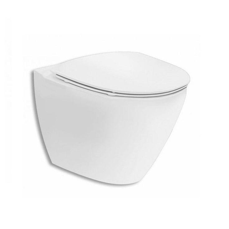 Vägghängd Toalettstol Ifö Spira Art 6245 Rimfree - Vägghängd toalett - Toalettstol & WC-stol