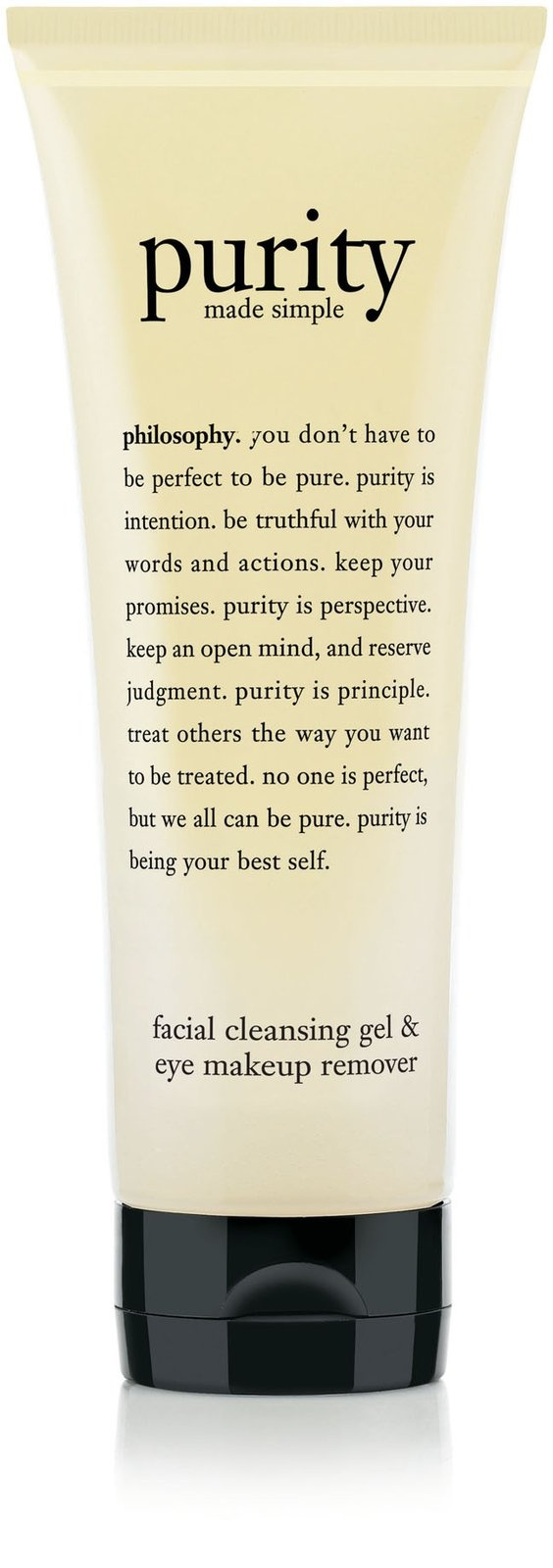 Philosophy Purity Gel Cleanser - This is so much better than the original. It takes just a small pea size amount. It's going to last me much longer & it gets off eye makeup even better too! Love it! Number one in my book!