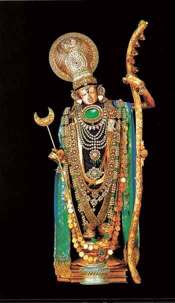 9 YOGA NIDRAS OF VISHNU - Neervanna perumal-7.Manikka Sayanam. Thiruneermalai, near Chennai. Moolavar Image not available.