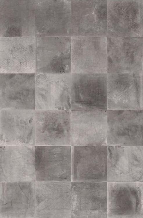 Grove stoere tegels, betonlook vloertegels, met veel kleur nuance