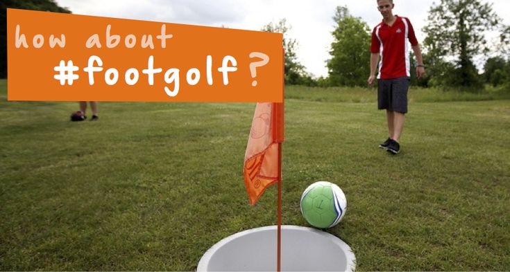 Have you heard of footgolf? It's a new hybrid sport mixing soccer and golf! Try it this week at a park near you for some unique #familyfun! #Yuggler #kidsactivities