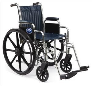 Excel Narrow Wheelchair w/ Permanent Arms (16in blue)  Price : $205.09 http://newmedsupplies.hostedbyamazon.com/Excel-Narrow-Wheelchair-Permanent-Arms/dp/B001JJAUW4