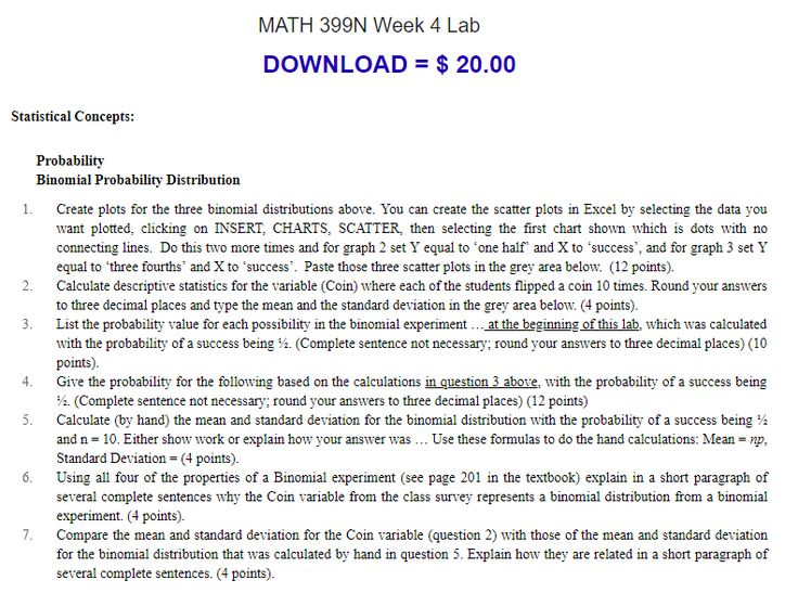 Buy to download statistical concepts probability