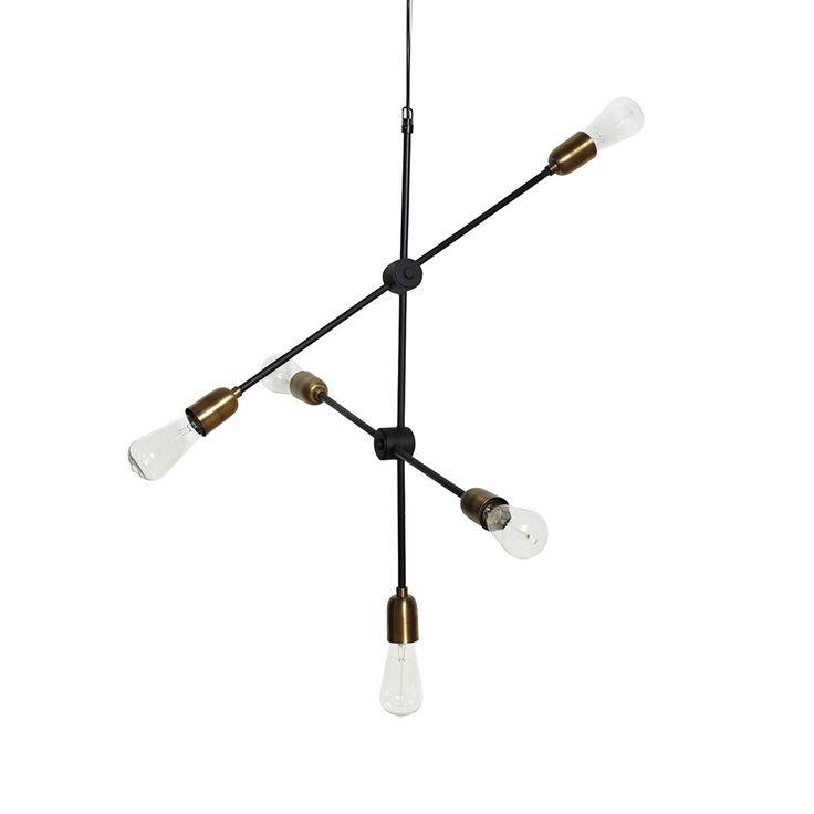 Molecular Loftslampe 78cm, House Doctor