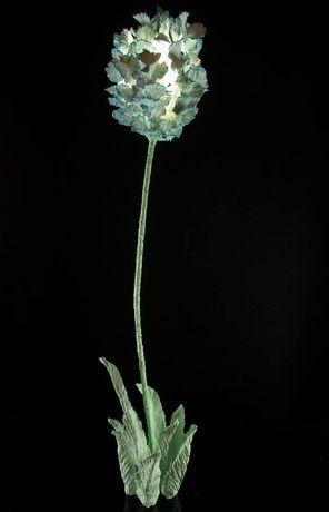 Ceramic flower by Teemu Salonen, high 85 cm