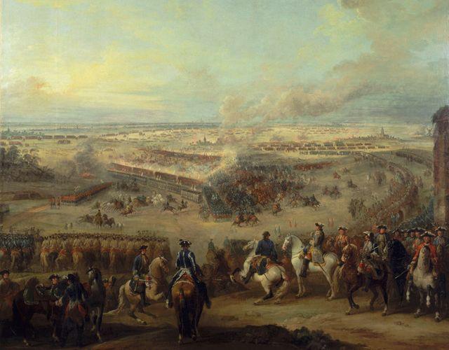 Aus der Sicht von Louis XV. vom Feldherrenhügel