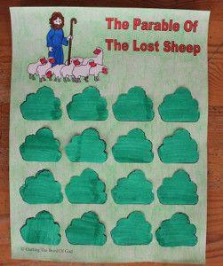 Free Printable Lost Sheep Game