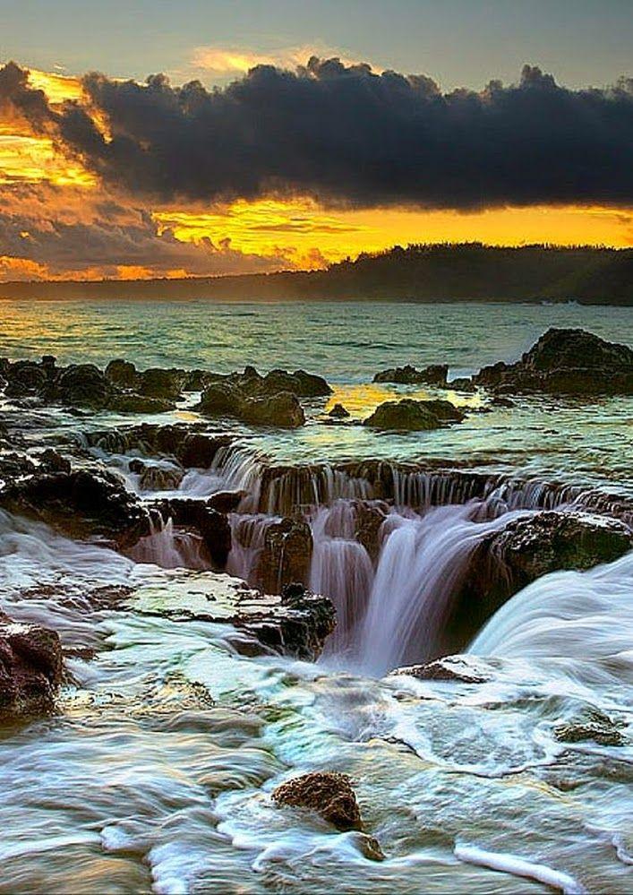 Maelstrom At , Kauai , Hawaii