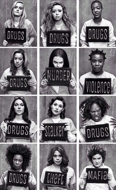 #oitnb #orangeisthenewblack Awesome Netflix show - Orange Is The New Black.