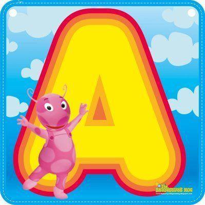 Alfabeto de los Backyardigans. | Oh my Alfabetos!