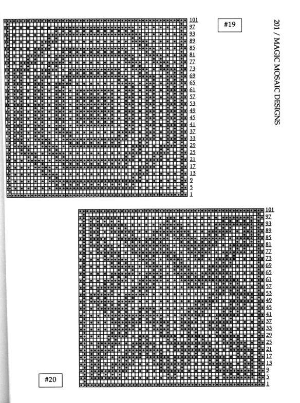 Mosaic Knitting Barbara G. Walker (Lenivii gakkard) Mosaic Knitting Barbara G. Walker (Lenivii gakkard) #206