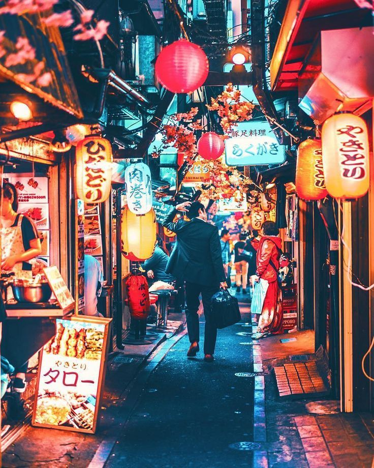 Busy Japanese Street by @yako_flpr3 – #Busy #Japan…