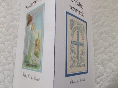Easter Symbols booklet for family Easter basket