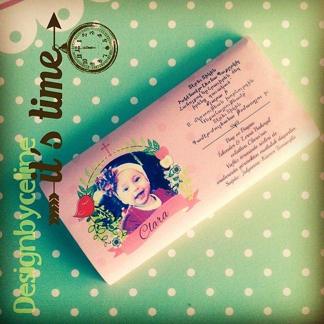 #chocolate #invitation #designbyceline #invitation #vaftiz #düğün #wedding