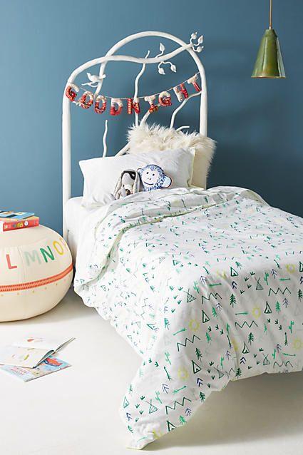 Meri Meri Color Camp Twin Duvet Cover #kidsroom #quiltcover #kidsroom