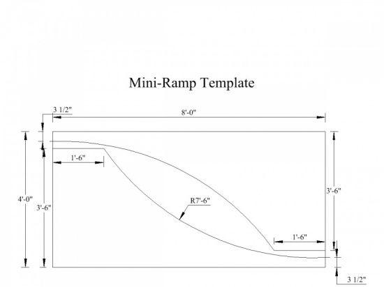 Construção Mini ramp projeto 2008 - Clube do skate