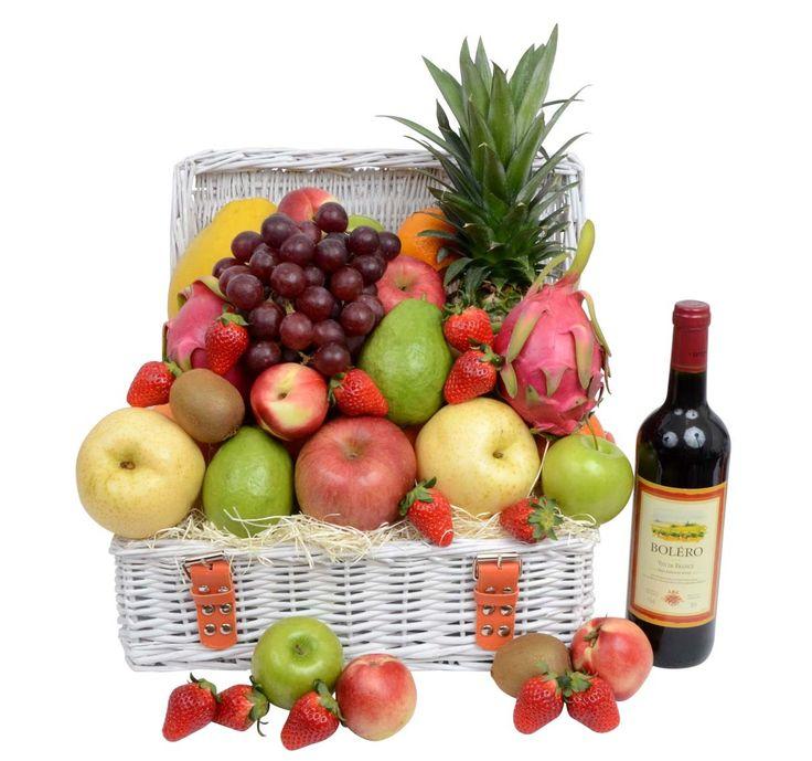 Corporate Wine & Fruit Hamper