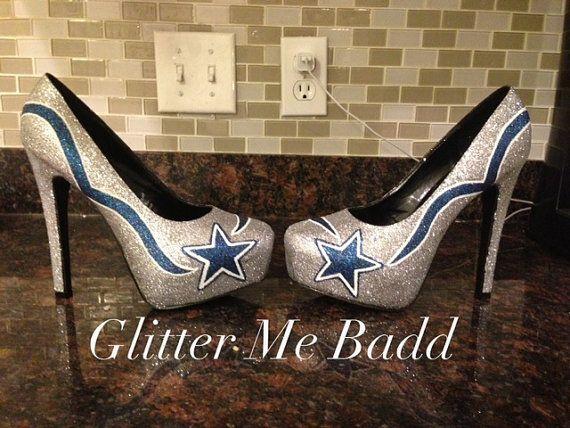 33f7cc9e454 High Heel: Dallas Cowboys High Heel Shoes