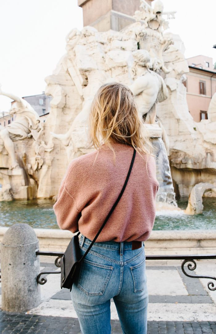 Falling For Our New Catalog, Constance Jablonski's Travel Style and Rome (In That Order)