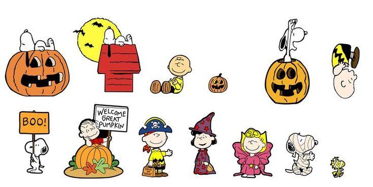 Charlie Brown Halloween SVG, Snoopy Halloween, Woodstock ... (734 x 369 Pixel)